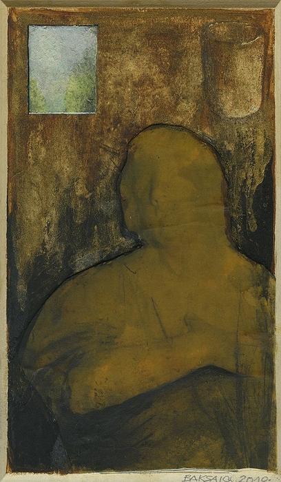 Baksai József: Ablak, pohár, 2010
