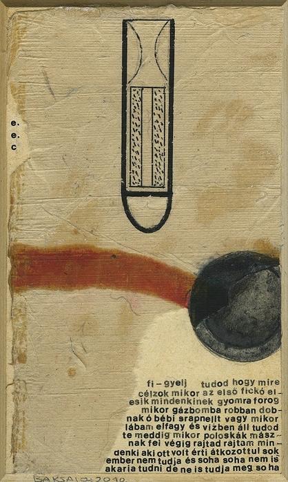 Baksai József: fi - gyelj (e. e. cummings), 2010