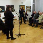 Sziget kiállítás - Solti Eszter galériavezető köszöntője