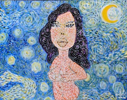 DrMáriás: Geronazzo Mária van Gogh műtermében