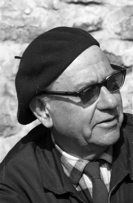 Fekete István, 1966 (Fotó: Fortepan)