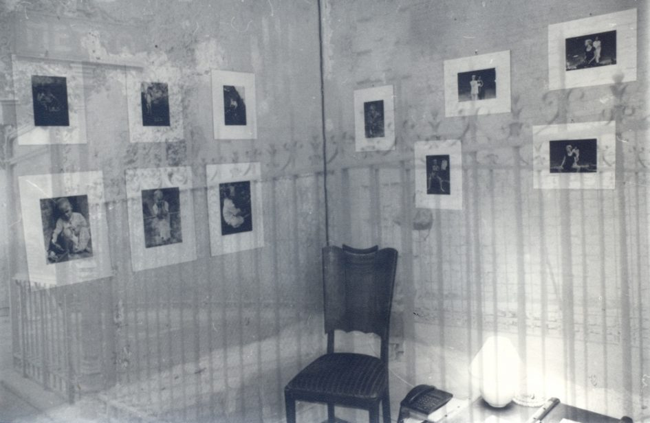 Nagy Zopán: Parizsi kiallitásom, duplex, részlet, 2000