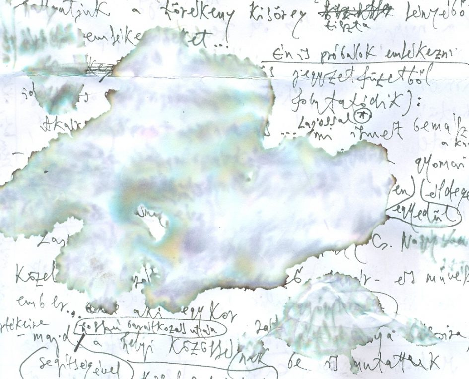 Nagy Zopán jegyzetfüzetéből