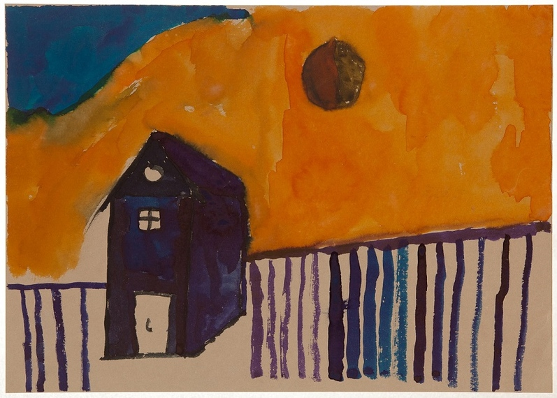 Hercsik János: Kék ház, 2012
