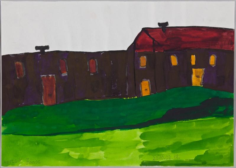 Hercsik János: Lila ház, 2010