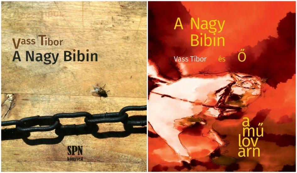 Vass Tibor köteteinek borítói