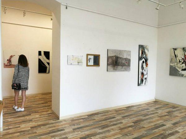 A Magángyűjtemény című kiállítás részlete - byArt Galéria (fotók: Bátorfi Szabolcs)