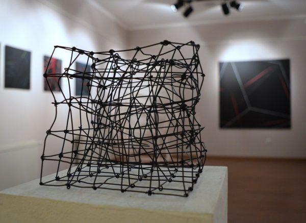 Fábián Zoltán kiállításának részlete, fotók: Langó Katalin