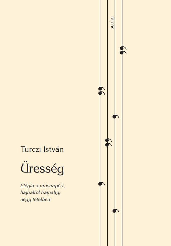 Turczi István Üresség című kötetének borítója