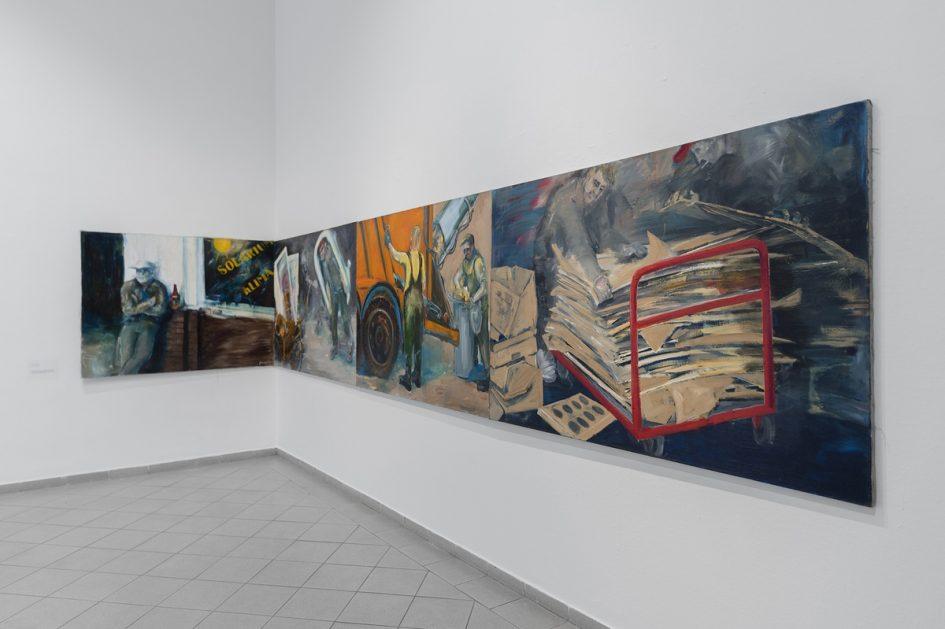 Tomasz Maniewski: Az én Varsóm - a kiállítás részlete