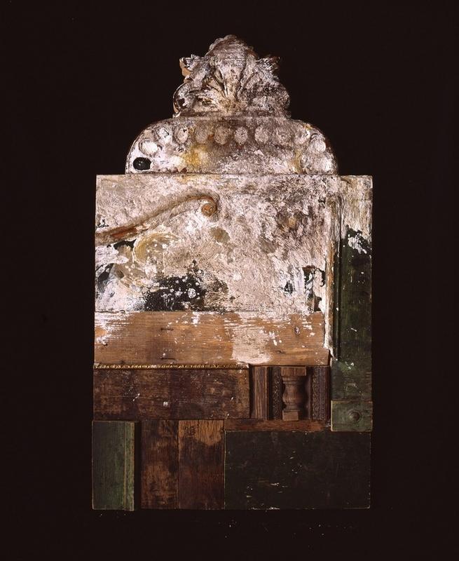 Birkás István: Házi oltár I., 1993