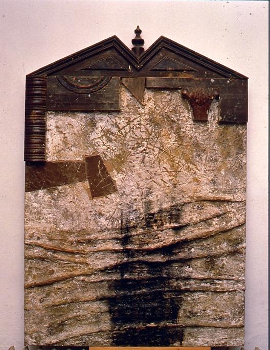 Birkás István: Házi oltár IV., 1994