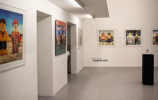 A Starter Sets kiállítás részlete a Faur Zsófi Galériában