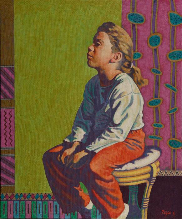 Potyók Tamás: Üldögélős, 2006