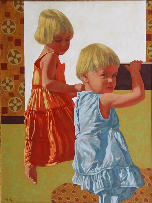 Potyók Tamás: Leányok, 2008