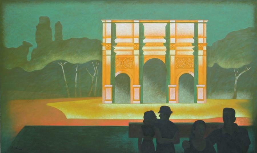 Potyók Tamás: A diadalív árnyékában, 2011
