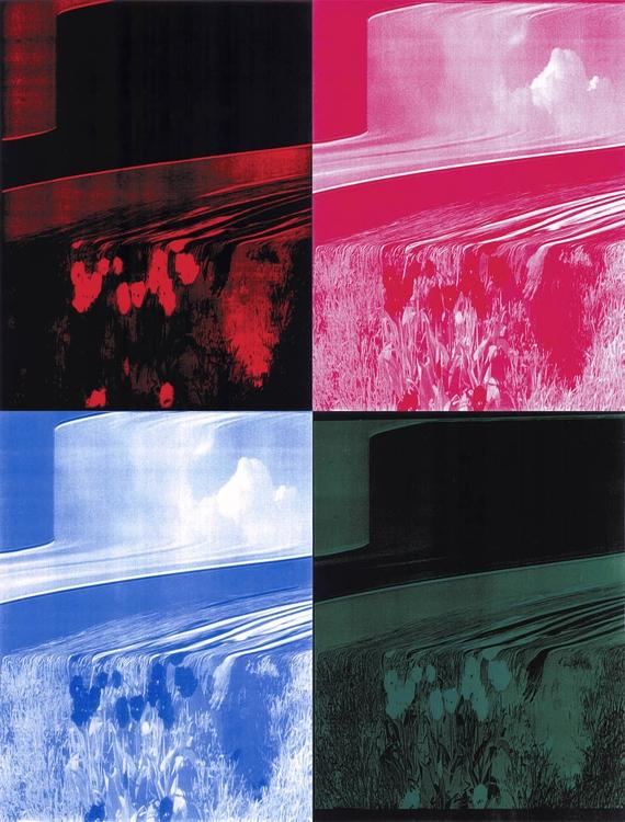 Bohár András: Objet Trouvé 2. 1-4., 2001, xerox, digitális print